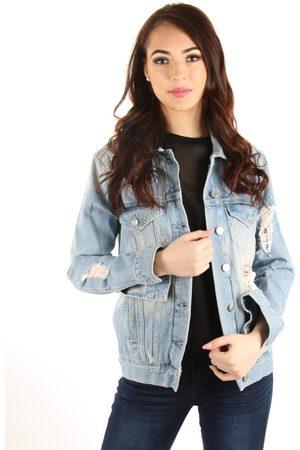Guess Dámská světle džínová bunda