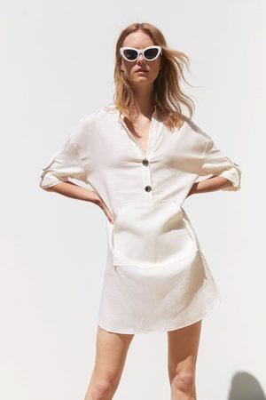Zara Ženy Tuniky - Tunika s klokaní kapsou