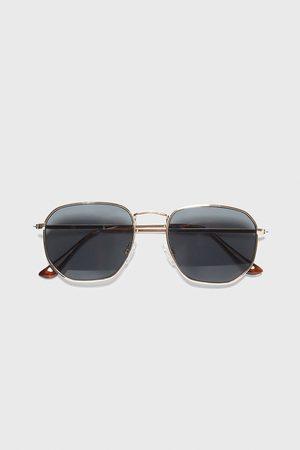 Zara Sluneční brýle s geometrickými obroučkami