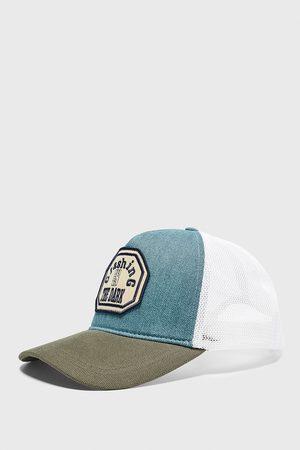 Zara čepice s kontrastní nášivkou