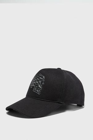 Zara čepice s lebkou s efektem reliéfu