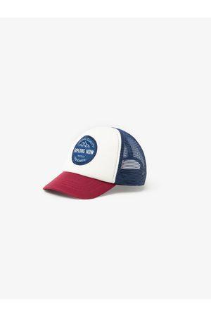 Zara Kombinovaná čepice se síťkou