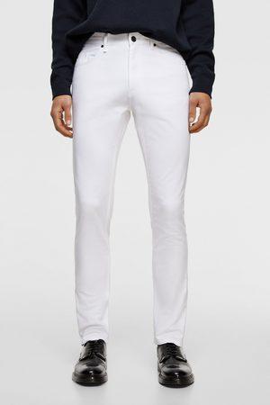 Zara Muži Úzké nohavice - Barevné kalhoty skinny