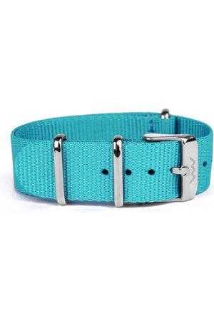 Vuch Nylonový pásek Blue Silver