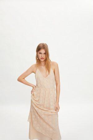 Zara Ženy Šaty - Vyšívané šaty