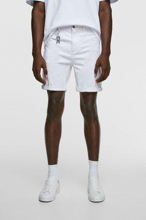Zara Muži Bermudy - Bermudy basic new skinny
