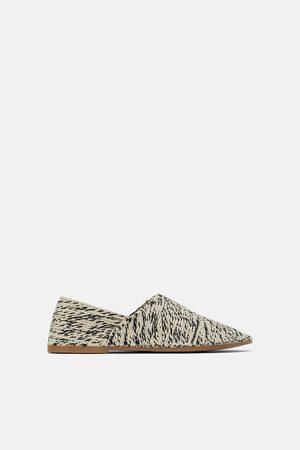 Zara Ženy Pantofle - Textilní papuče