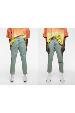 Zara Jeans slim acid wash