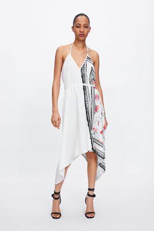 Zara Ženy Asymetrické - Kombinované asymetrické šaty