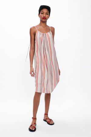 Zara Ženy Šaty - šaty rustikálního stylu s proužky