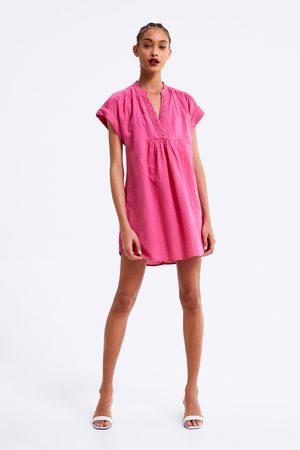 Zara Rustikální šaty
