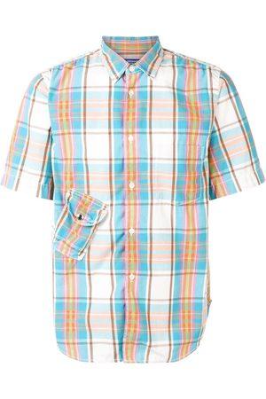 Junya Watanabe Comme Des Garçons Pre-Owned Checked short sleeved shirt
