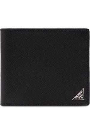 Prada Saffiano logo wallet