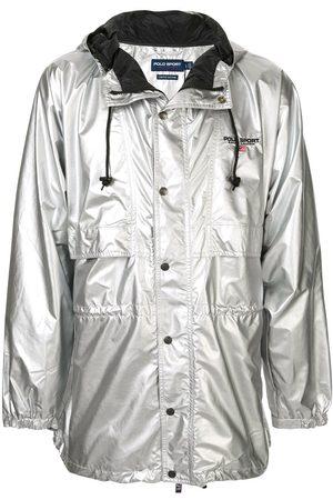 Polo Ralph Lauren P-Wing metallic raincoat
