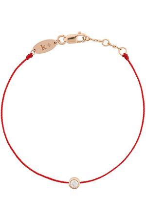 Redline Ženy Náramky - 18kt rose gold and diamond string bracelet