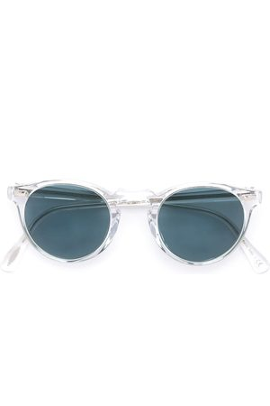 Oliver Peoples Gregory Peck round frame sunglasses