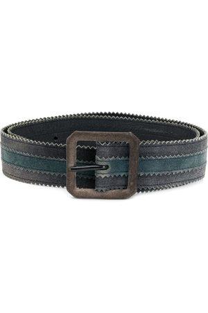 Yves Saint Laurent 1970's square buckle belt