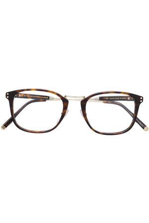 Retrosuperfuture Tortoiseshell-effect square glasses