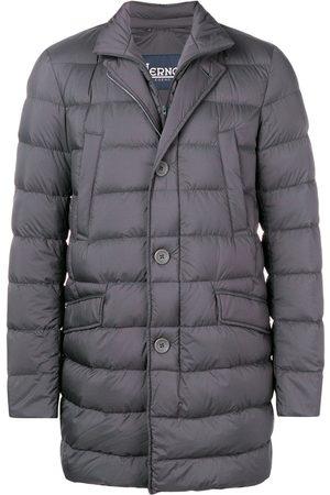 HERNO Muži Péřové bundy - Padded straight-fit jacket
