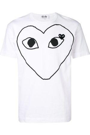 Comme des Garçons Large heart logo T-shirt
