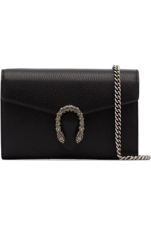 Gucci Black Dionysus mini chain leather bag