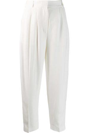 Alexander McQueen High waist tailored trousers