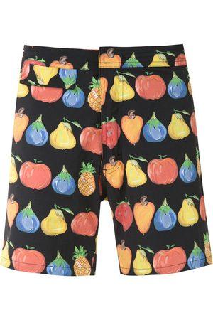AMIR SLAMA Printed swimming shorts