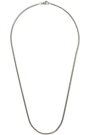 "David Yurman 22"" length small Box Chain necklace"