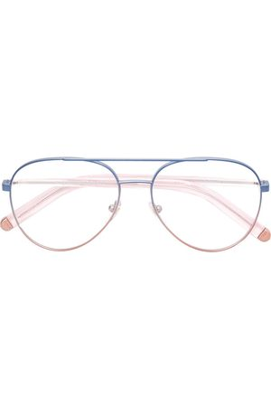 Retrosuperfuture Contrast aviator glasses
