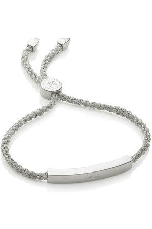 Monica Vinader Linear Silver Metallicca bracelet