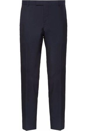 Prada Mohair fabric trousers