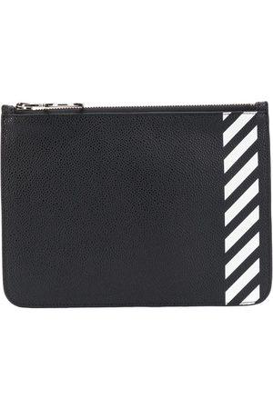 OFF-WHITE Diagonal stripe purse