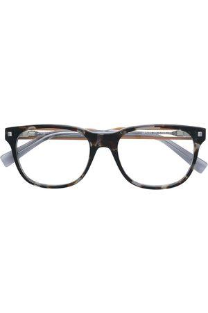 Ermenegildo Zegna Tortoiseshell-effect square glasses