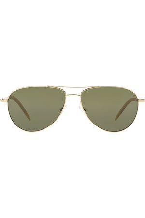 Oliver Peoples Classic aviator sunglasses