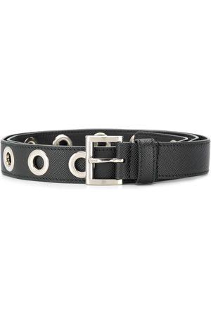 Prada Eyelet-embellished belt