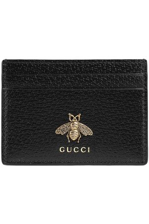 Gucci Animalier leather card case
