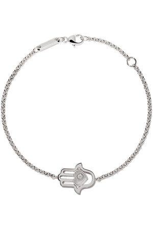 Chopard 18kt white gold Good Luck Charms diamond bracelet
