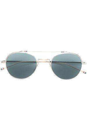 Thom Browne Eyewear Round tinted sunglasses