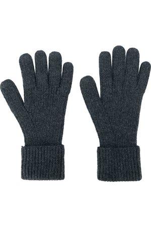 N.PEAL Muži Rukavice - Ribbed gloves