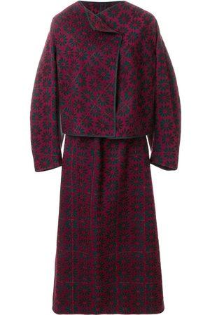 Comme des Garçons Ženy Obleky - 1999 brocade skirt suit