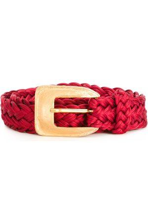 Yves Saint Laurent 1980's braided belt