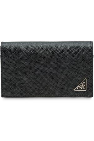 Prada Muži Peněženky - Saffiano leather card holder
