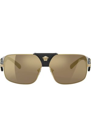 VERSACE Rectangle frame sunglasses