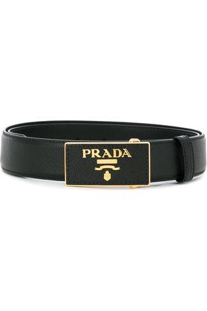 Prada Logo buckle belt