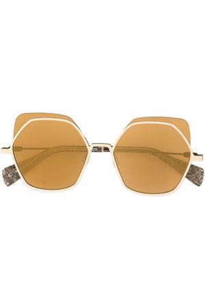YOHJI YAMAMOTO Sluneční brýle - Oversized sunglasses