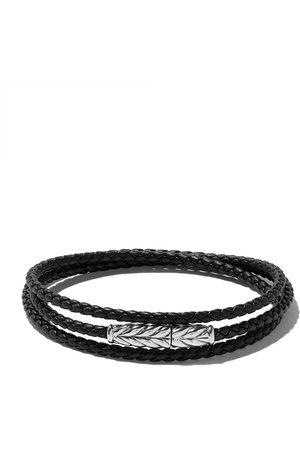 David Yurman Chevron triple-wrap bracelet