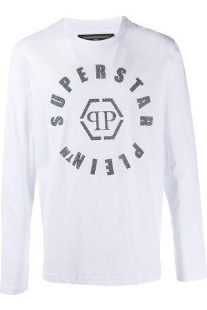 Philipp Plein Muži S dlouhým rukávem - Logo print T-shirt