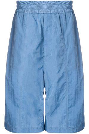 Ami Oversized Track Shorts