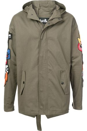 HACULLA Hacmania patch hooded coat