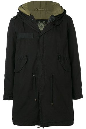 Mr & Mrs Italy Customisable midi parka with patches